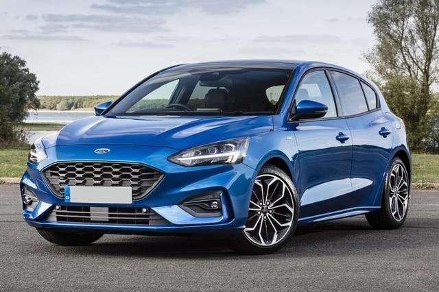 ford focus niebieski dla firm